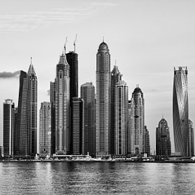 Dubai Marina by M Delawer (delawer)) on 500px.com