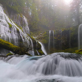 Panther Creek Falls.. by Andrew Kumler (AndrewKumler)) on 500px.com