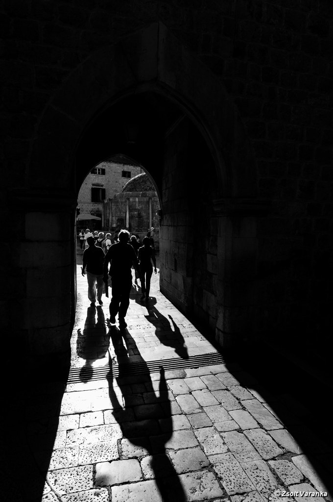 Photograph Dubrovnik, morning lights - Onofrio's Fountains thru gate Pile by Zsolt Varanka on 500px