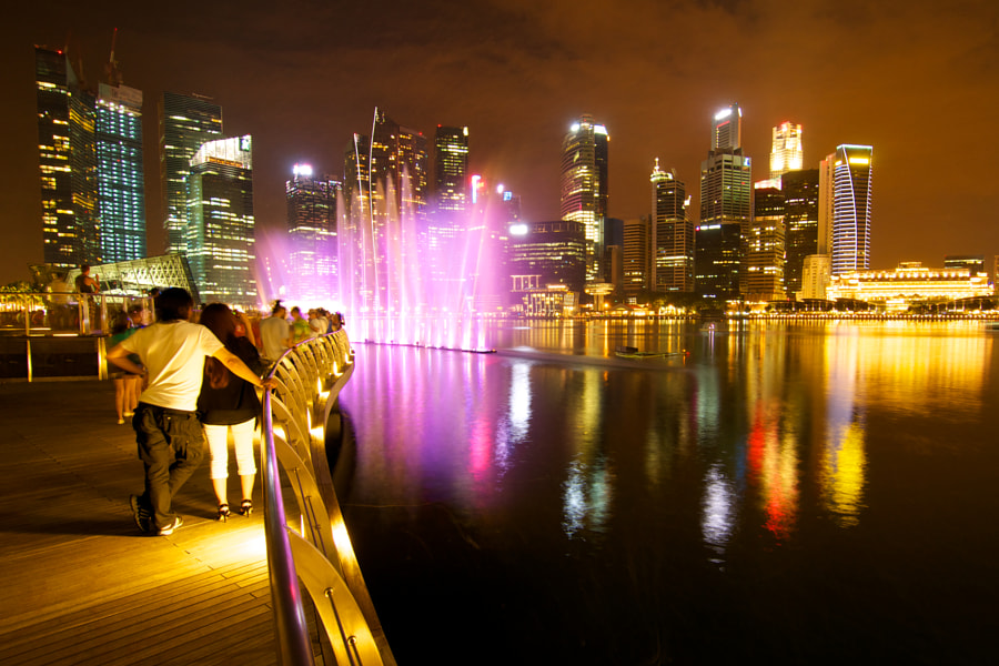 Marina Bay Lights