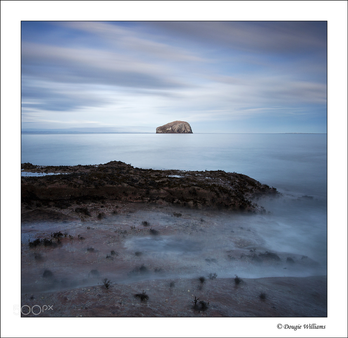 Photograph Bass Rock from Seacliff by Dougie Williams on 500px