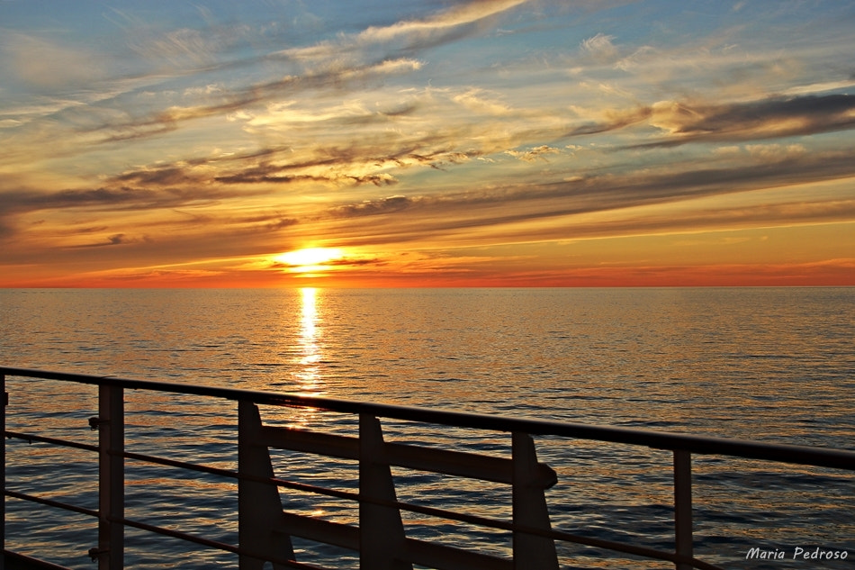 Photograph Sunset on the Baltic Sea by Graciete Pedroso on 500px