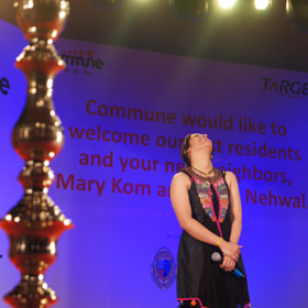 Saina Nehwal during Felication by Srinivasan Arumugam (sricheez)) on 500px.com