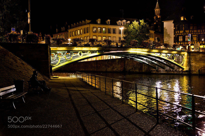 Photograph Strasbourg at Night by Karl Wiedenhofer on 500px