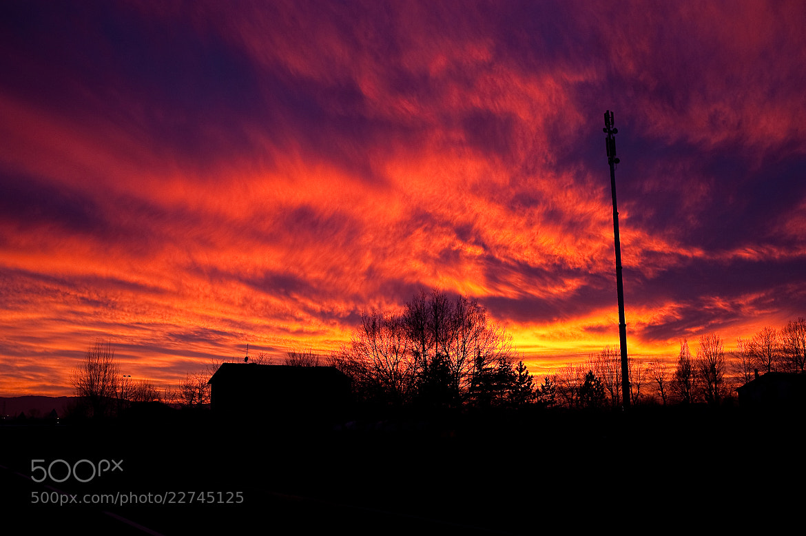 Photograph Burning sky by Antonio Cutrona on 500px