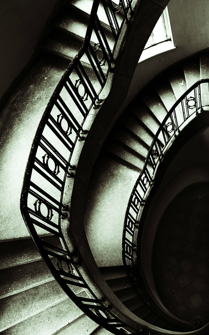 Photograph staircase by Maria Durand on 500px