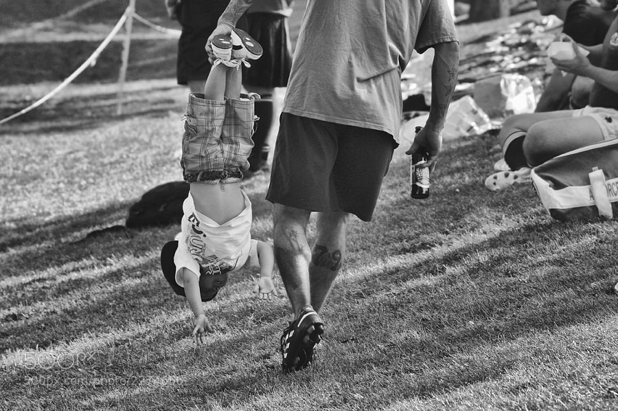 Photograph When Beer, Dad,  and Kid Bond by Blindman shooting on 500px