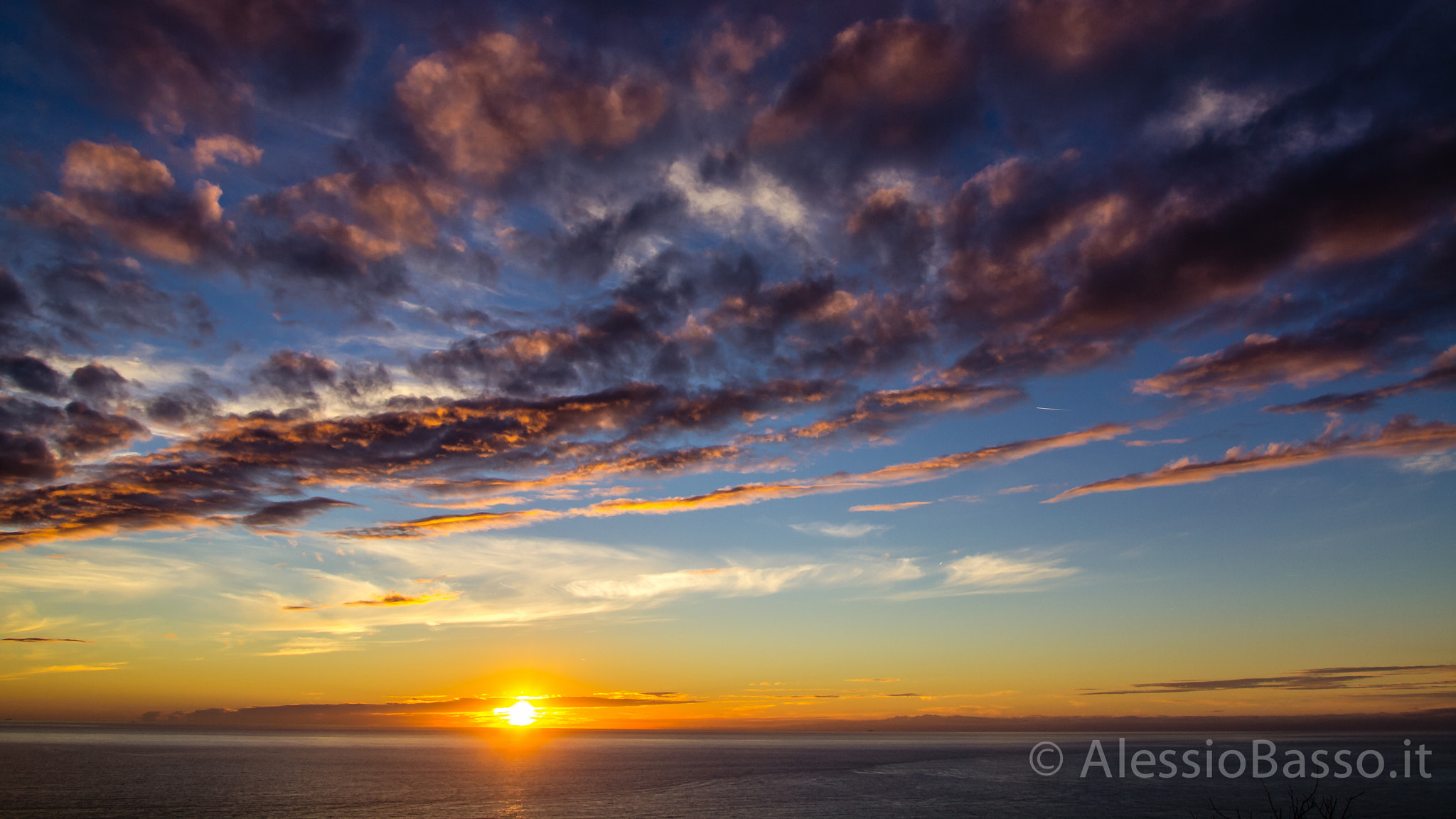 Photograph Five Lands Sunset by Alessio Basso on 500px