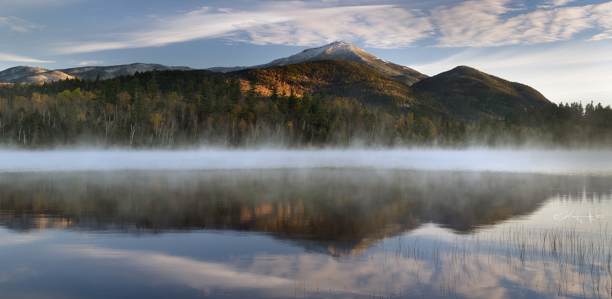 Photograph Connery Pond panorama by Del  Higgins on 500px