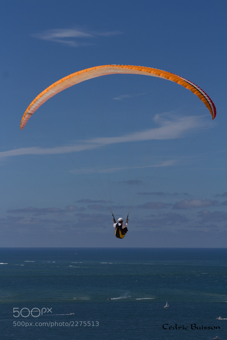 Photograph Paragliding by Cedric Buisson on 500px