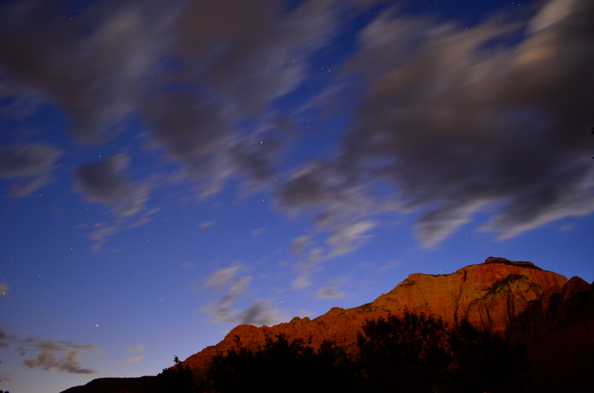 Photograph Zion at Nightfall by Clint Carter on 500px