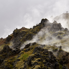 Photograph steamingRocks by Lukas Bachschwell