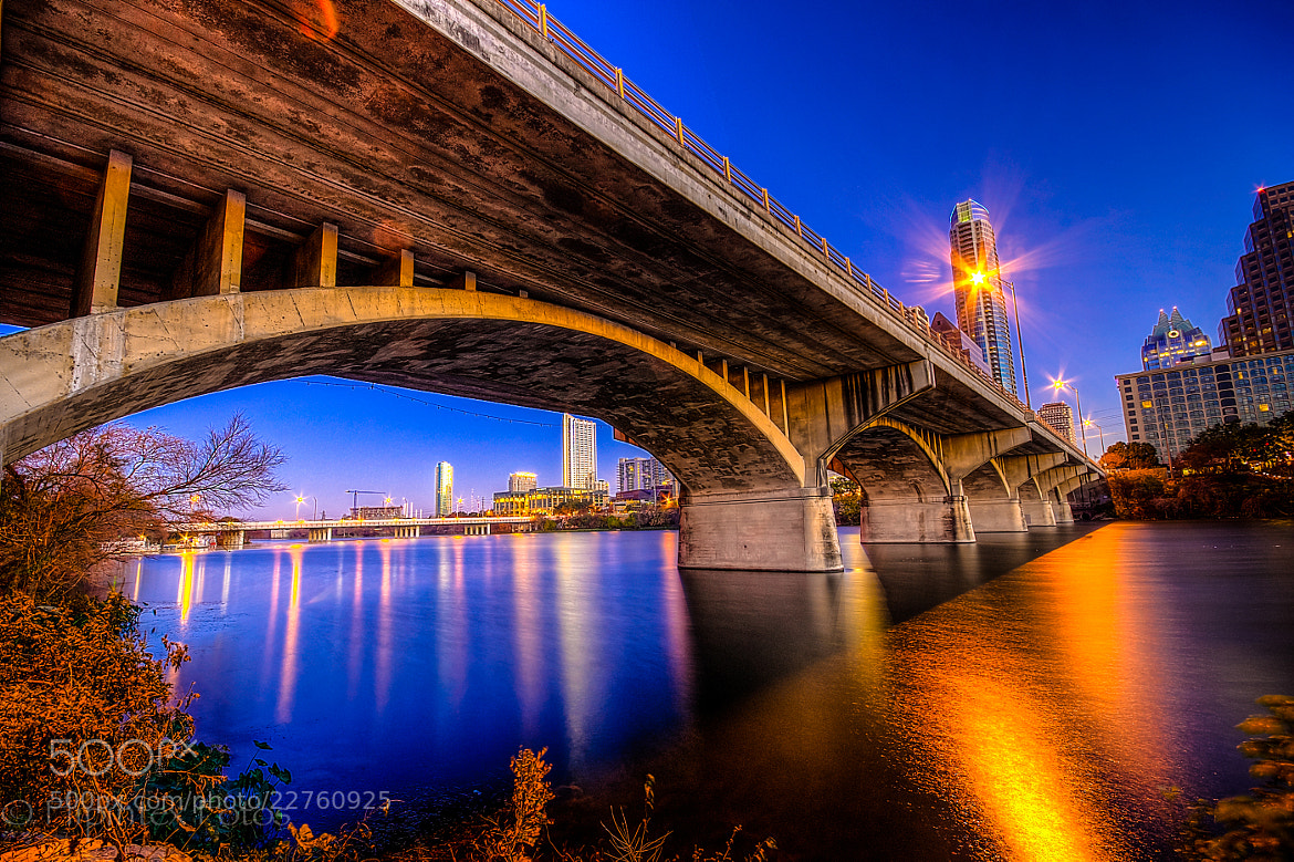 Photograph Congress St. Bridge aka Bat Bridge by John C on 500px