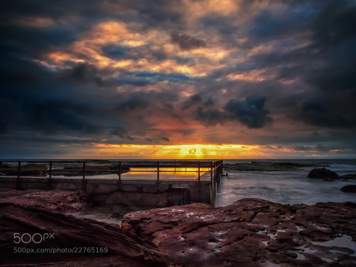 Photograph North Curl Curl Rock Baths by PaulEmmingsPhotography  on 500px