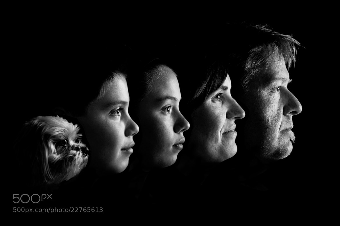 Photograph My Family Portrait by Kevin Rische on 500px