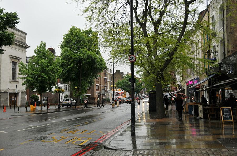 Rain in London by Sandra on 500px.com