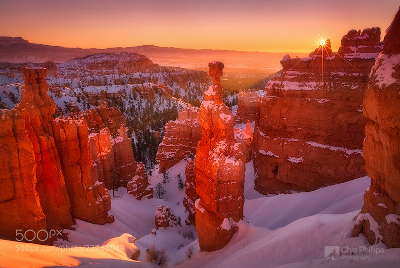 Photograph Bryce Canyon Sunrise by Chip Phillips on 500px