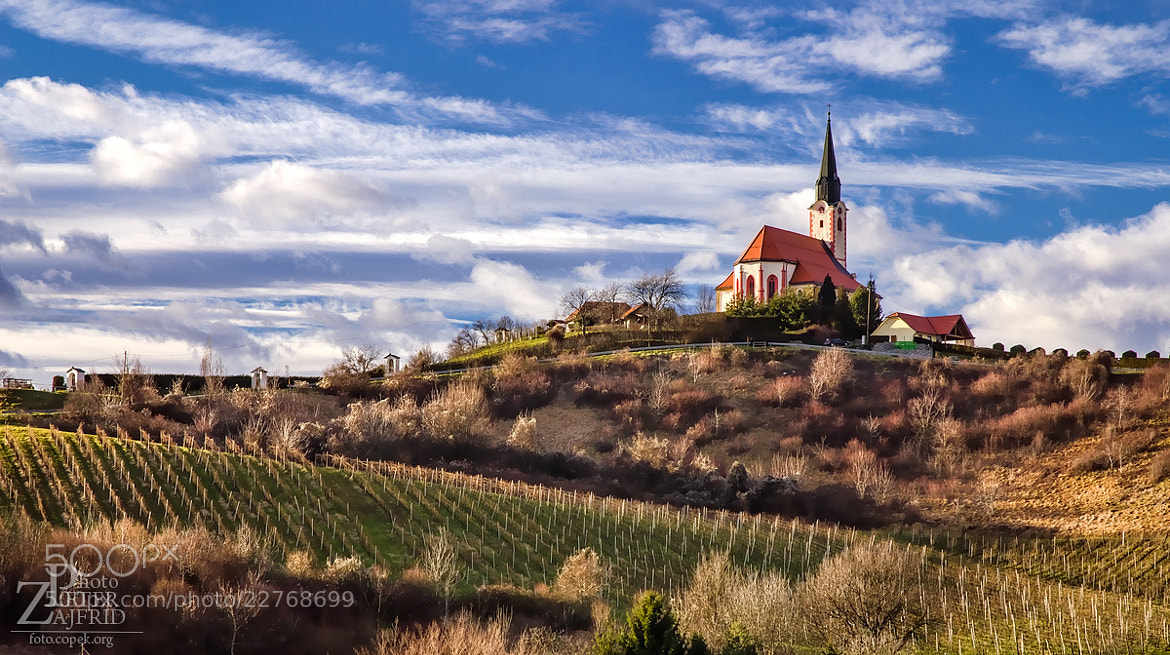 Photograph Church on the hill by Peter Zajfrid on 500px