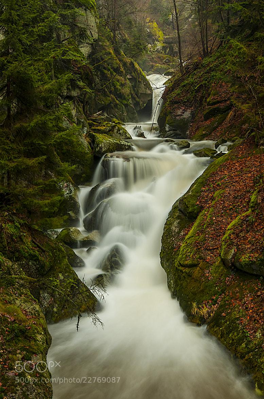 Photograph Wasserfall in der Stillensteinklamm by Leo Pöcksteiner on 500px