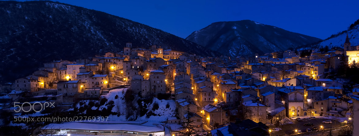 Photograph Scanno by Giuseppe Mosca on 500px