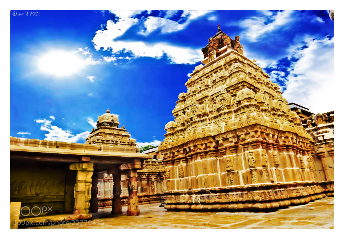 Photograph Bhoga Nandeeshwara Temple / Bangalore by Sinu Nair on 500px