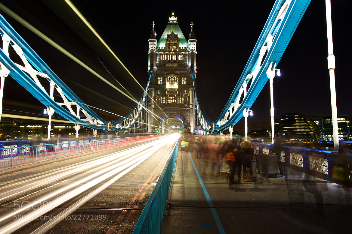 Photograph Rush Hour on Tower Bridge by Christophe Pfeilstücker on 500px