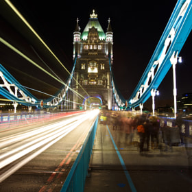 Rush Hour on Tower Bridge by Christophe Pfeilstücker (xris74)) on 500px.com
