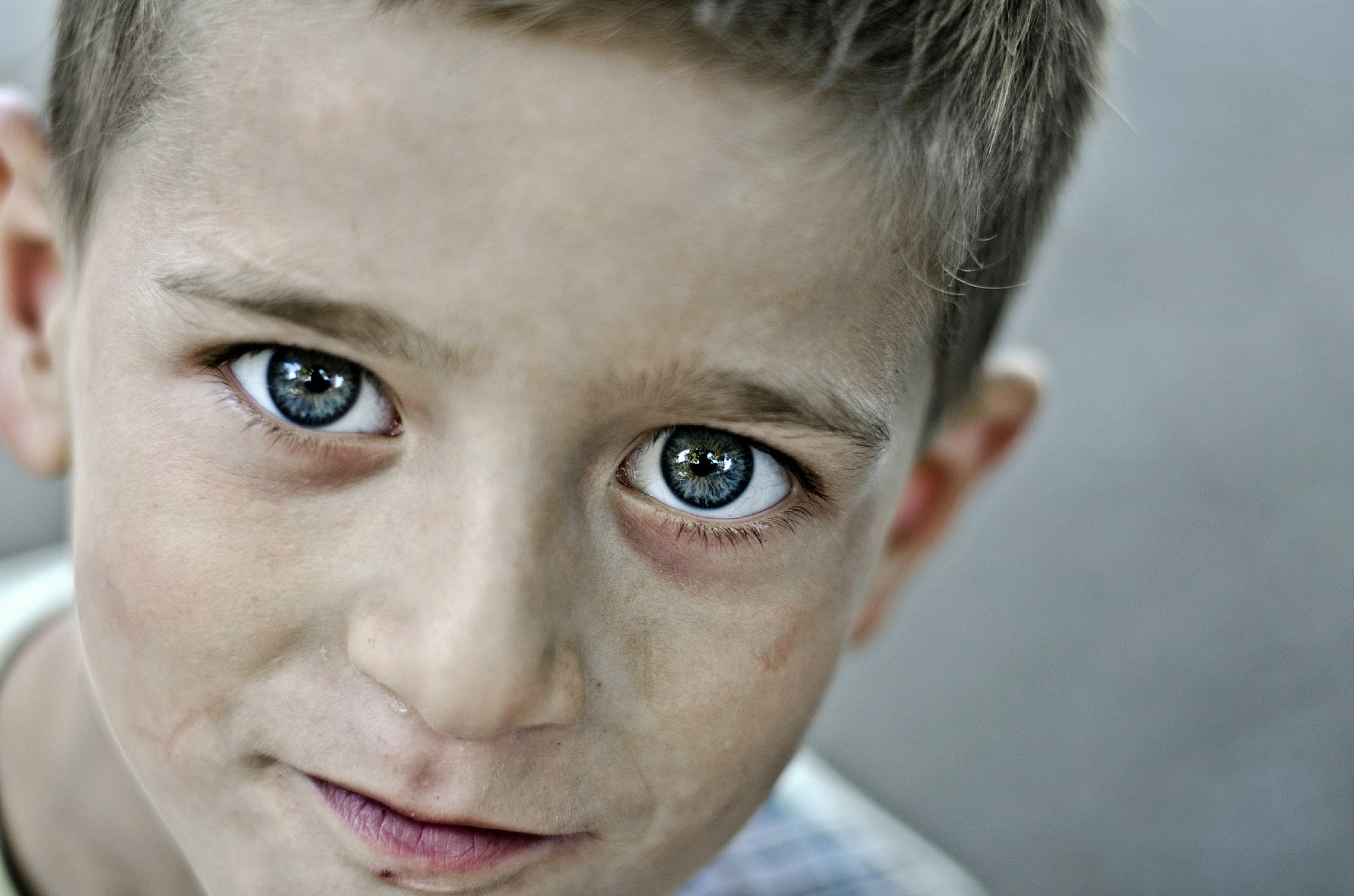 Photograph Blue Eyes by Samir Jabarov on 500px