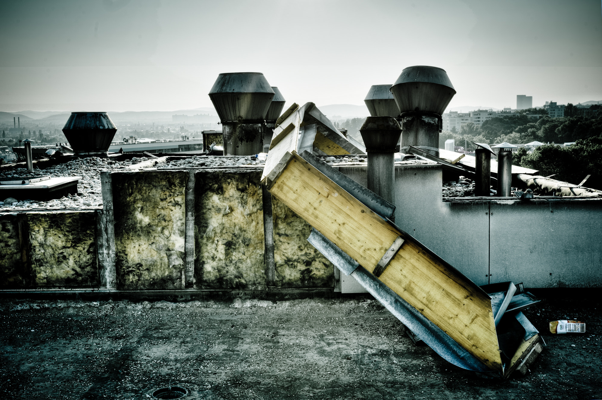 Photograph up on the roof by Thomas Luxus Strini on 500px