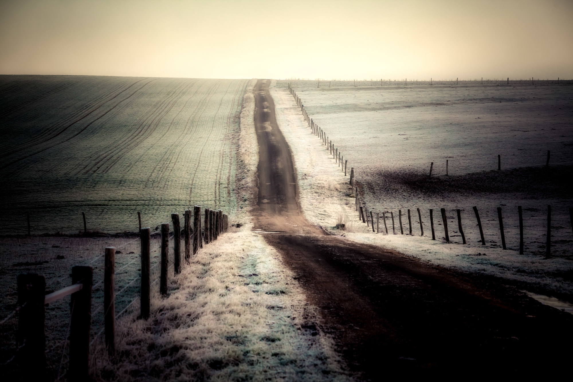 Photograph Lost road by Didier Protin on 500px