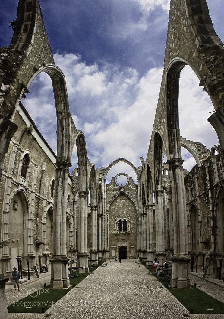 Photograph Convento Do Carmo by Jesús Sánchez Ibáñez on 500px