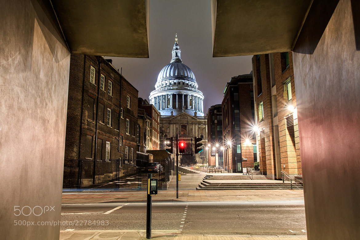 Photograph St Paul Cathedral  by Helminadia Ranford on 500px