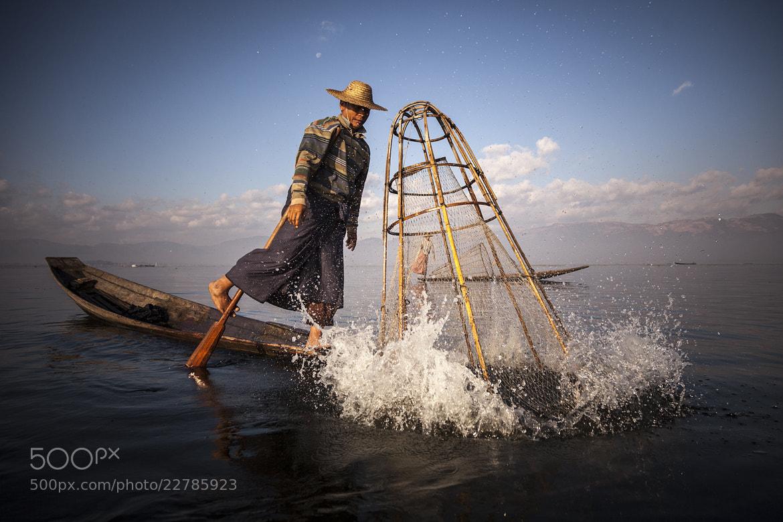 Photograph fisherman@Inle Myanmar by apichart sripeng on 500px