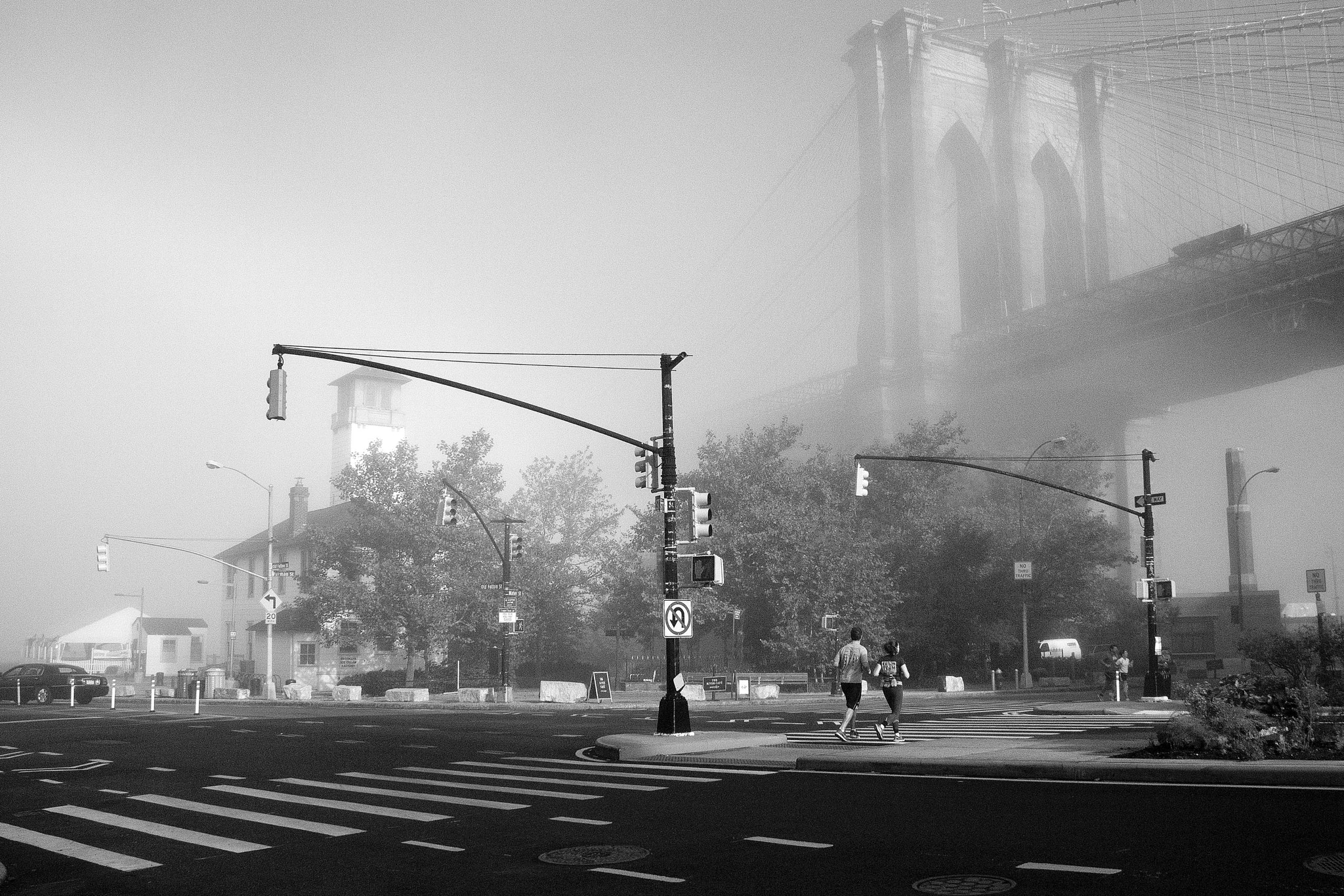 Photograph Foggy Morning in Dumbo by Amelie Belanger on 500px