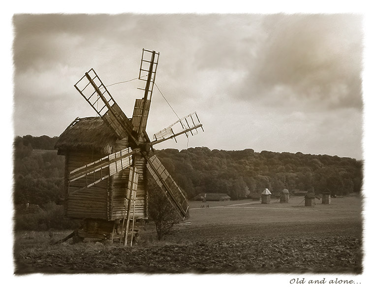 Photograph Old and alone... by Lena Berntsen on 500px