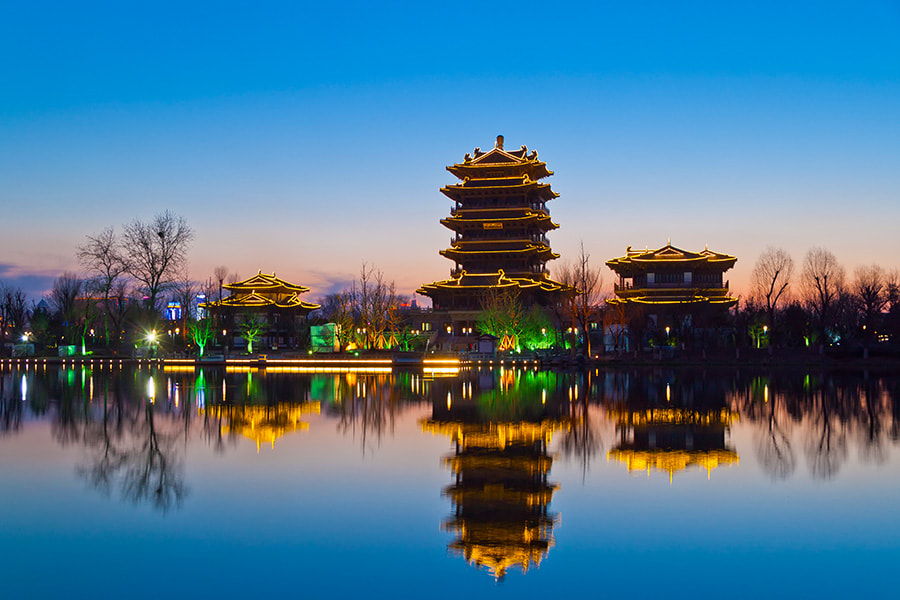 Photograph Daming lake by Song Hongxiao on 500px