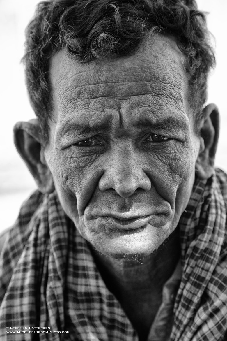 Photograph Khmer Gentleman RR Slum by Stephen Patterson on 500px