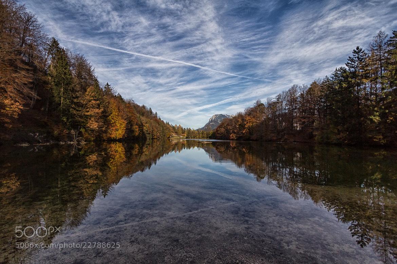 Photograph Lake Reflection by Julian Höck on 500px