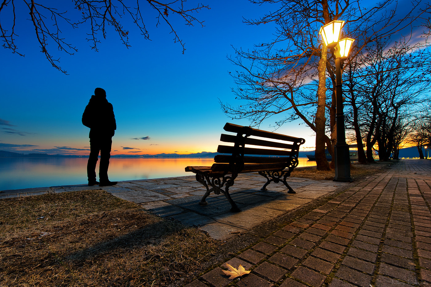 Photograph Sunset bench by Nikos Koutoulas on 500px