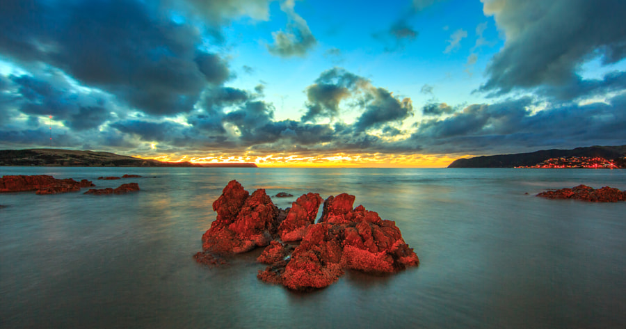 Plimmerton Dusk by MichaelJordanoff on 500px