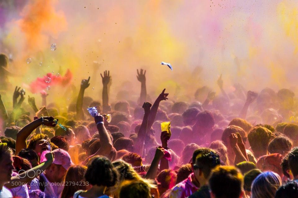 Photograph Holi Munich by Falk Friederichs on 500px