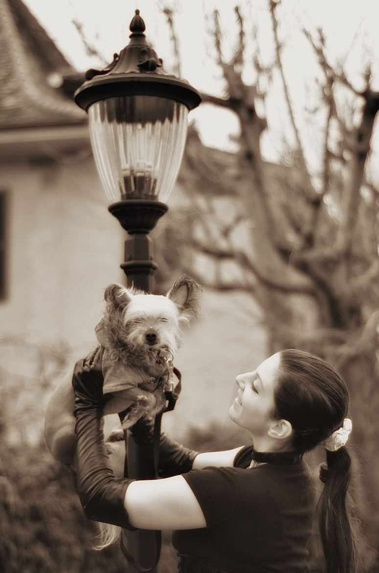 Photograph I love my dog by Fabio Kan on 500px