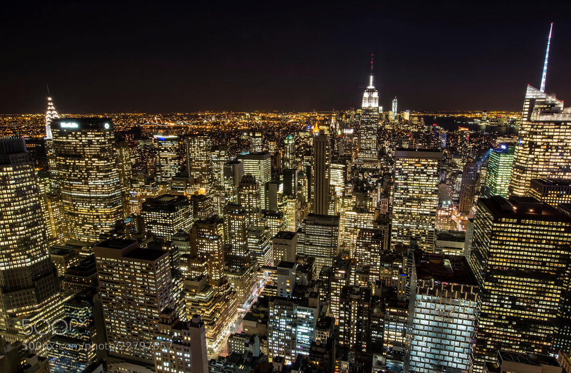 Photograph Top of the Rock, NYC by laura  malucchi on 500px