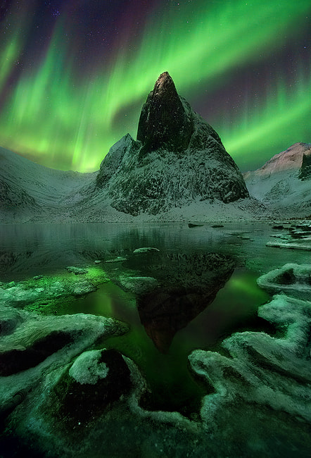 Photograph Aurora Wilderness by Marc  Adamus on 500px