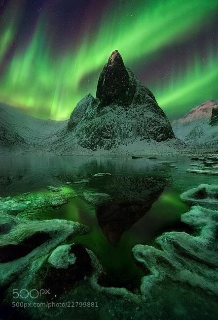 Photograph Aurora Wilderness by Marc  Adamus on 500px