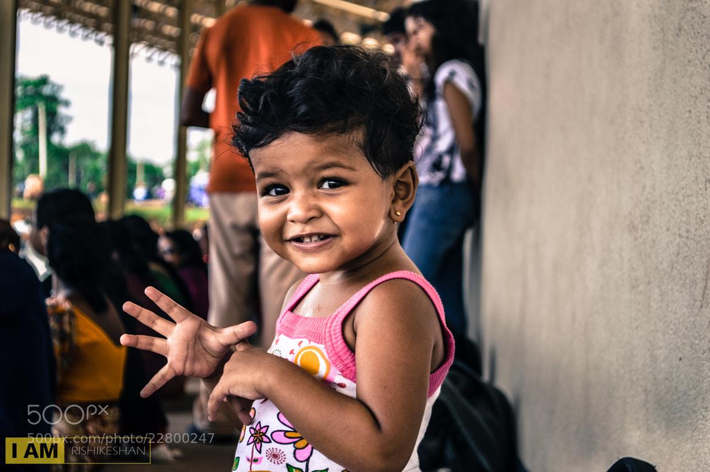 Photograph Cute kid by Rishikeshan Pangushan on 500px