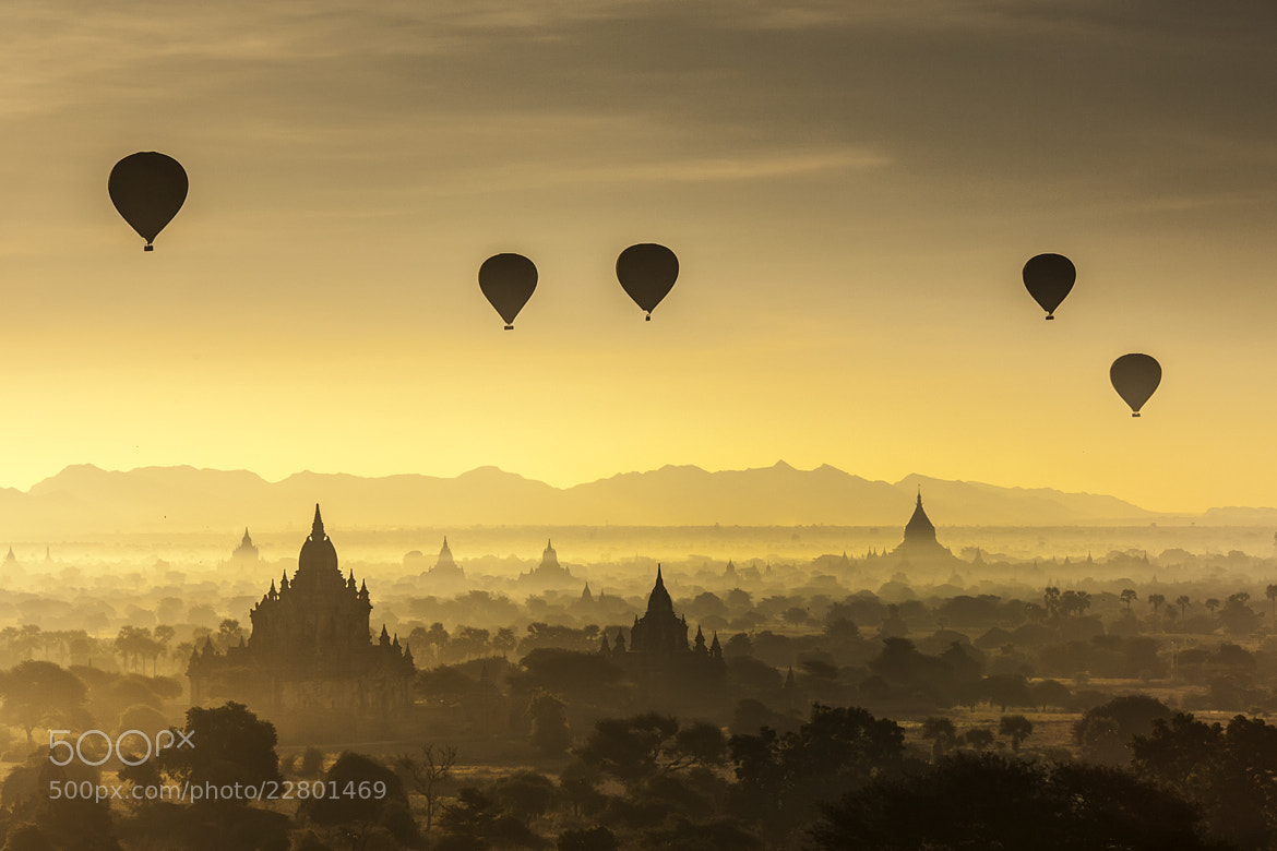 Photograph Bagan @Myanmar by apichart sripeng on 500px
