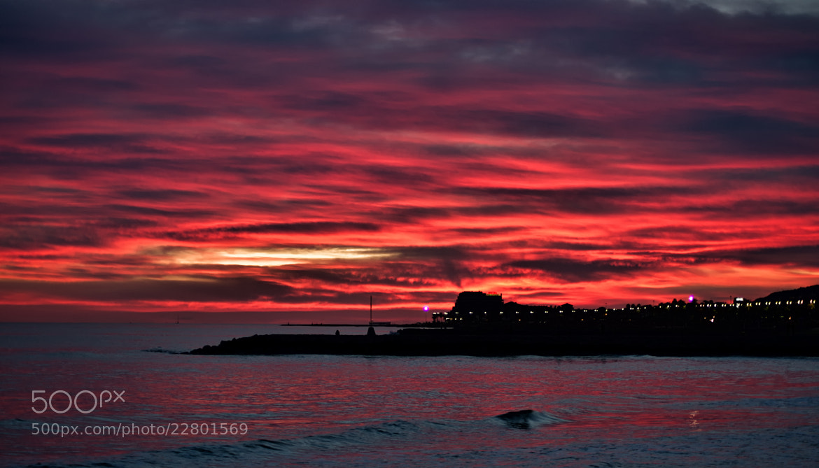Photograph Red clouds - Núvols vermells by Miquel Soler on 500px