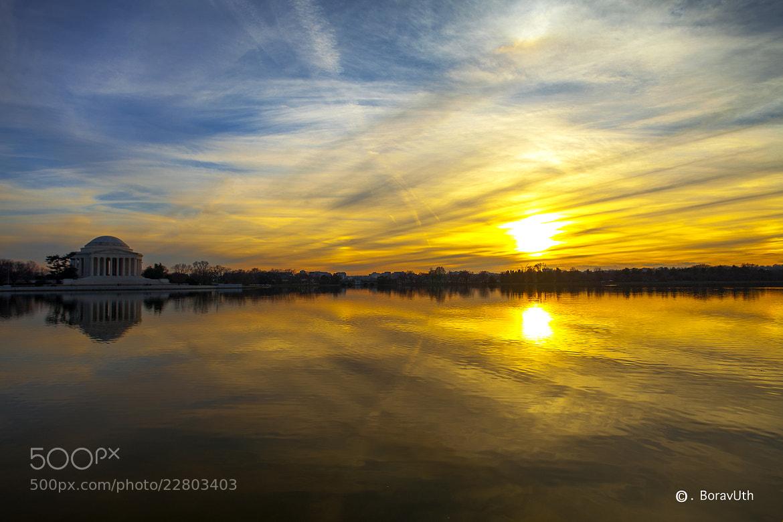 Photograph Lovely Sunset by BoravUth Foto on 500px