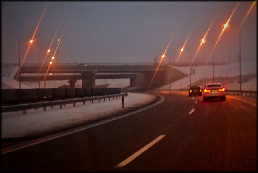 Photograph Highway at night by Merl Antal György on 500px